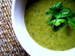 Cleansing Pure Green Soup