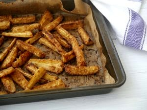 Tamari Tahini Parsnip Fries