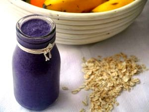 Blueberry Zing Breakfast Smoothie