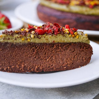 Superfood Paleo Chocolate Cake with Matcha Frosting   wordpress-6440-15949-223058.cloudwaysapps.com   this luscious grain free cake is free from gluten, dairy and refined sugar, and yet it's SO incredibly delicious, with a rich, truly chocolatey flavour!