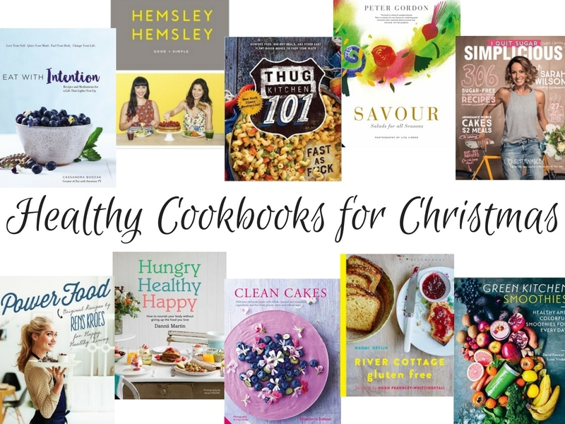 Blog Post: 10 healthy cookbooks that would make a wonderful Christmas gift (or for any time of year) for your health conscious friend or family member! Via wordpress-6440-15949-223058.cloudwaysapps.com