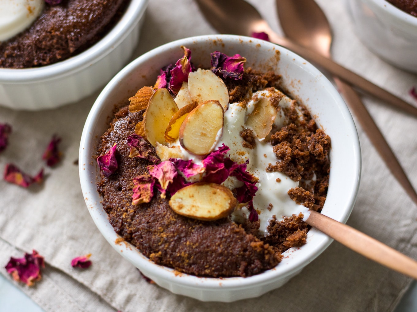 Healthy Almond Chocolate Mug Cake Nourish Every Day