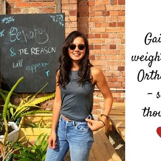 New on the blog: Gaining weight after orthorexia - my thoughts. Some positive messages after my own experience. Read it over on nourisheveryday.com!
