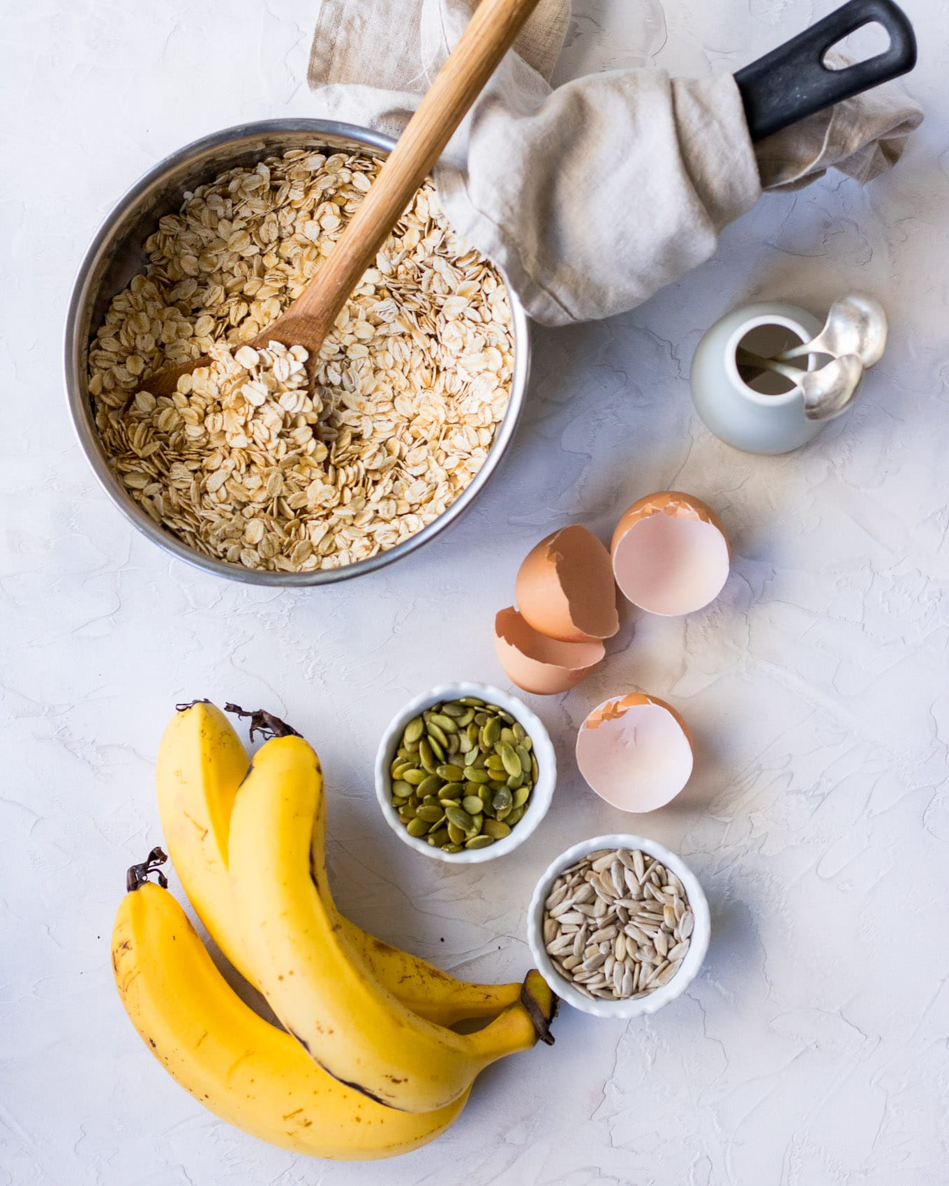 Protein Packed Banana Porridge main ingredients